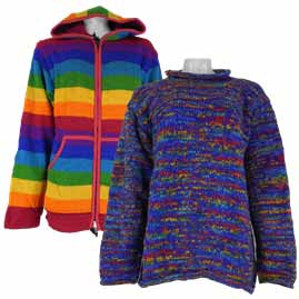 Festival Clothing jumper and jackets