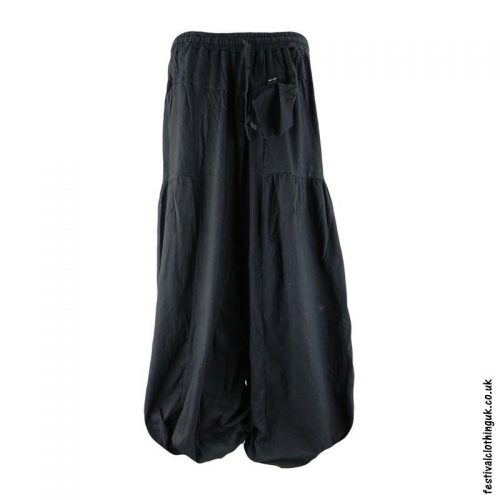 Festival-Baggy-Trousers-with-Elastic-Waist-Black
