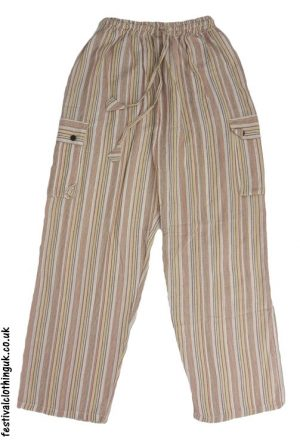 Festival-Cargo-Trousers-Beige,-Cream