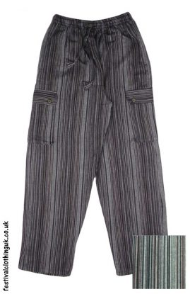Festival-Cargo-Trousers-brown-and-black