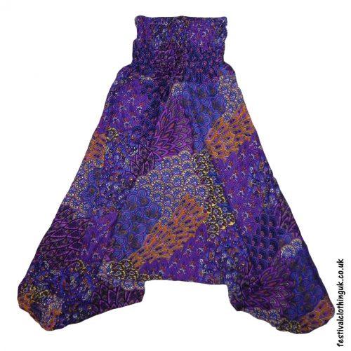 Festival-Harem-Ali-Baba-Trousers-Purple