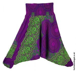 Festival-Harem-Ali-Baba-Trousers-Purple-Green