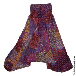 Festival Harem Ali Baba Trousers Red