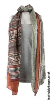 Beige-Recycled-Indian-Sari-Festival-Scarf