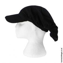 Black-Cap-Headband-Festival-Hat