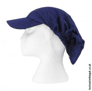 Blue-Cap-Headband-Festival-Hat