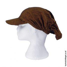 Brown-Cap-Headband-Festival-Hat