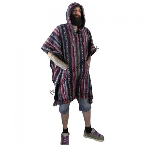 Cotton-Festival-Poncho-Male
