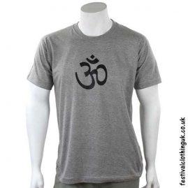Cotton-Festival-T-Shirt-Grey-Om