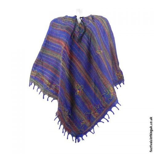Embroidery-Festival-Poncho-Blue-1
