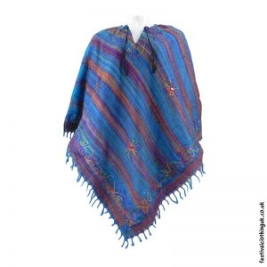 Embroidery-Festival-Poncho-Turquoise-1