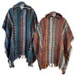 Festival Cotton Ponchos - Thick Weave Ponco