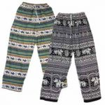 Printed Rayon Festival Trousers
