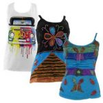 Festival Vest Tops and Blouses