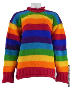 Festival-Wool-Jumper-Striped-Rainbow