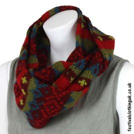Festival-Wool-Snood-Burgundy