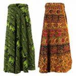 Festival Skirts - Printed Wrap Skirts