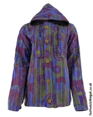 Gheri-Cotton-Hooded-Festival-Jacket-Purple