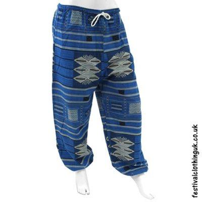 Heavy Cotton Festival Trousers Light Blue