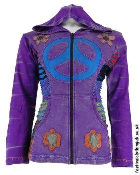 Hooded-Peace-Sign-Festival-Jacket-Purple