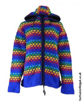 Hooded-Wool-Festival-Jacket-Blue-Rainbow