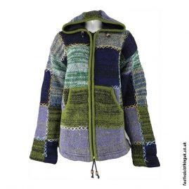 Hooded-Wool-Festival-Jacket-Green-Mix