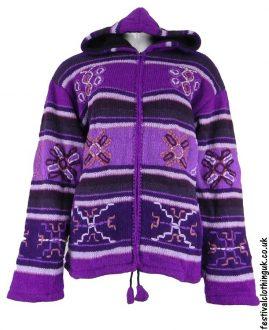 Hooded-Wool-Jacket-Purple