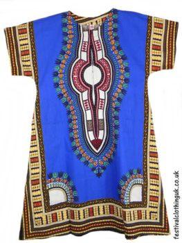 Long-Cotton-Festival-Kaftan-Dress-Unisex-Blue