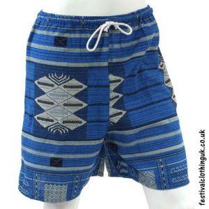Long-Light-Blue-Cotton-Festival-Shorts