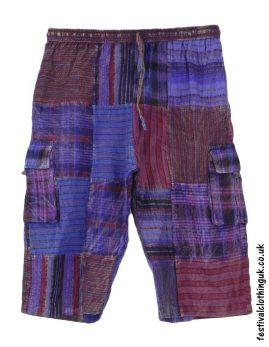 Long-Patchwork-Festival-Shorts-Purple-Mix