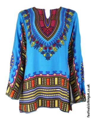Long-Sleeve-Dashiki-Festival-Tunic-Turquoise