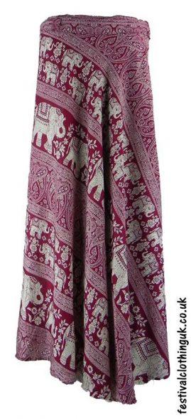 Long-Wrap-Elephant-Festival-Skirt-Burgundy
