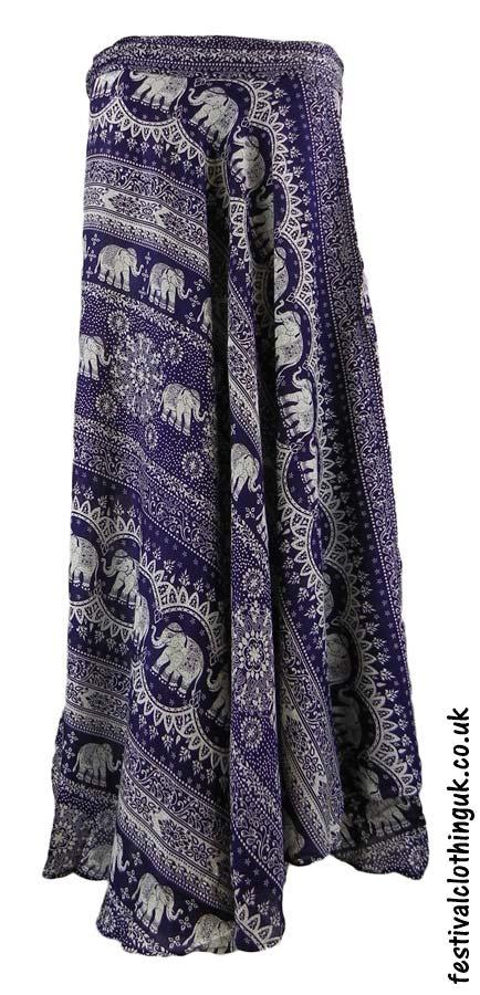 Long-Wrap-Elephant-Festival-Skirt-Purple