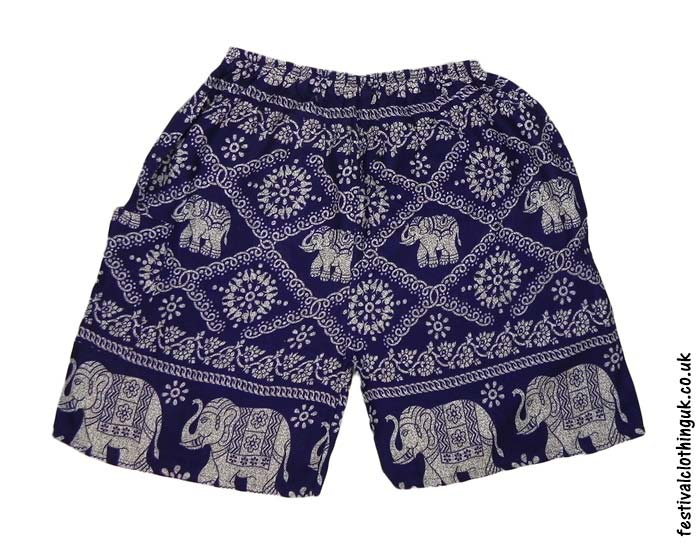 Male-Elephant-Long-Festival-Shorts-Dark-Blue