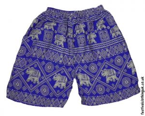 Male-Elephant-Long-Festival-Shorts-Light-Blue