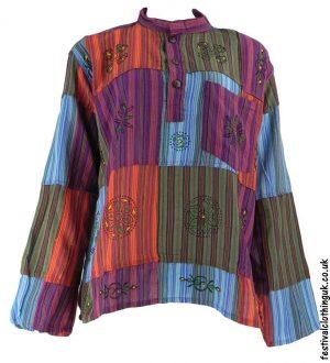 Patchwork-Festival-Grandad-Shirt-Multicoloured