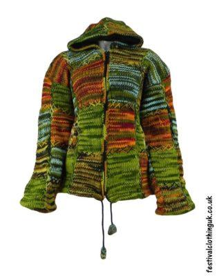 Pixie-Hooded-Wool-Festival-Jacket-Green