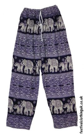 Printed-Rayon-Festival-Trousers-Elephant-Dark-Blue