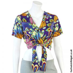Purple-Tropical-Tie-Festival-Crop-Top