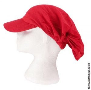 Red-Cap-Headband-Festival-Hat