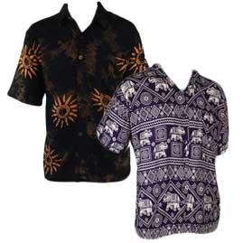 Short Sleeve Buttoned Shirts