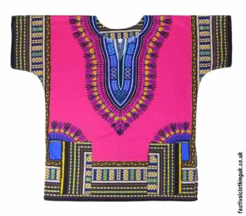 Short-Sleeve-Dashiki-Festival-Top-Pink