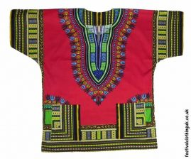 Short-Sleeve-Dashiki-Festival-Top-Red