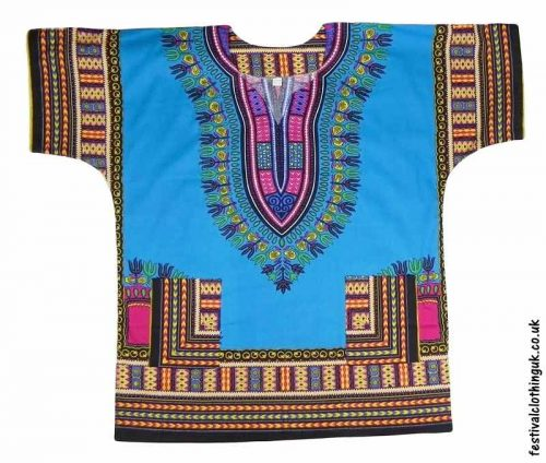 Short-Sleeve-Dashiki-Festival-Top-Turquoise