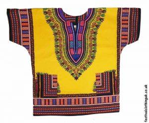 Short-Sleeve-Dashiki-Festival-Top-Yellow