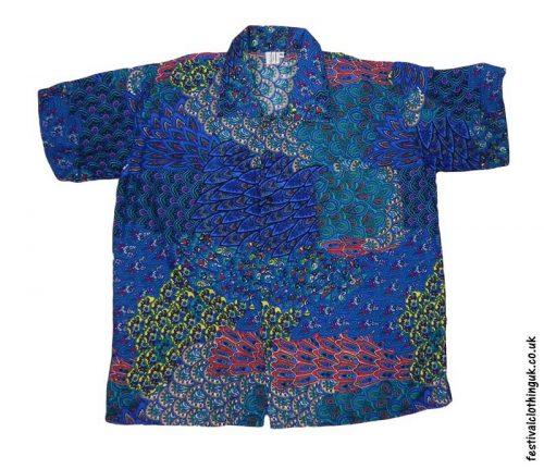 Short-Sleeve-Festival-Shirt-Blue-green