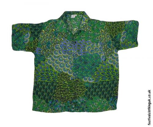 Short-Sleeve-Festival-Shirt-Green