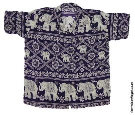 Short-Sleeve-Festival-Shirt-Purple-Elephant
