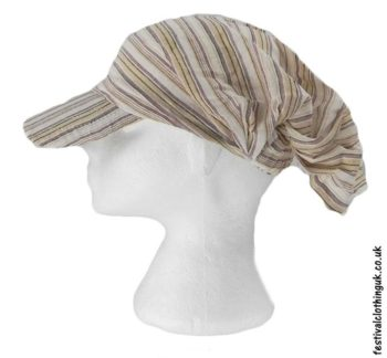 Striped-Headband-Cap-Festival-Hat-Cream