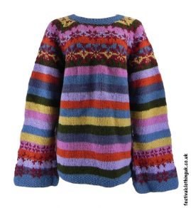 Swedish-Style-Wool-Jumper-Striped-Multicoloured